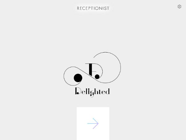 バックライトオフ解除の画面